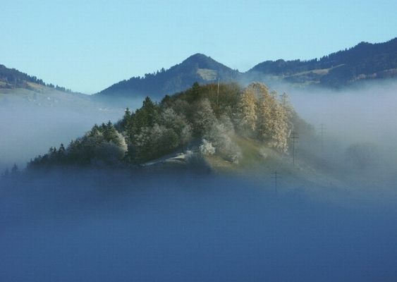 Inseln... im Nebel...