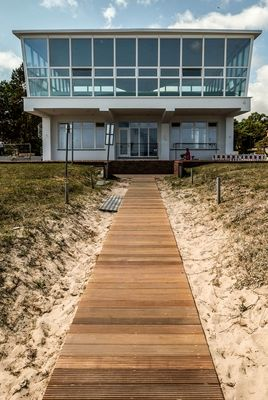 Inselparadies Baabe (Architekt: Ulrich Müther)