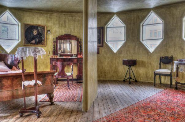 Inside Melnikov House