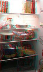 Inside my fridge ... 3D