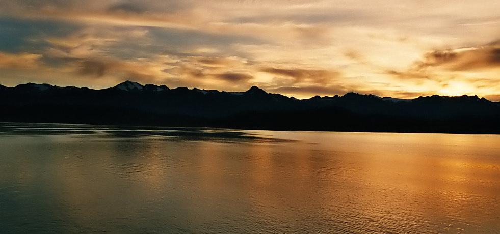 Inside Passage - Alaska von Berthold Schieffer