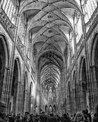 Inside Saint Vitus Cathedral Prague