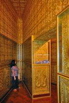 Inside the Botataung Pagoda in Yangon