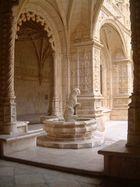Inside the Mosteiro dos Jeronimos de Belem