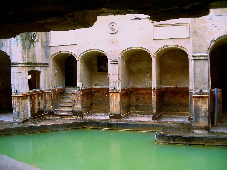 Inside the Roman Baths