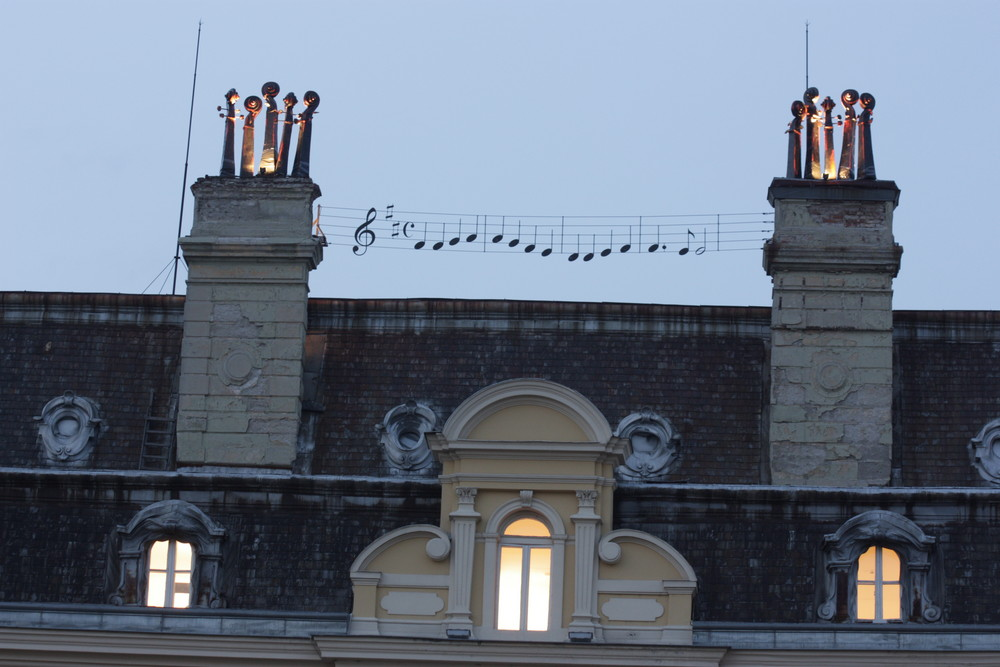 Installation Gallerie d'Art de Sofia, mai 2008