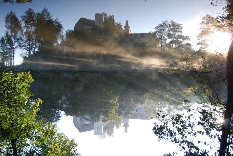 Instant magique - Brumes matinales en Austriche