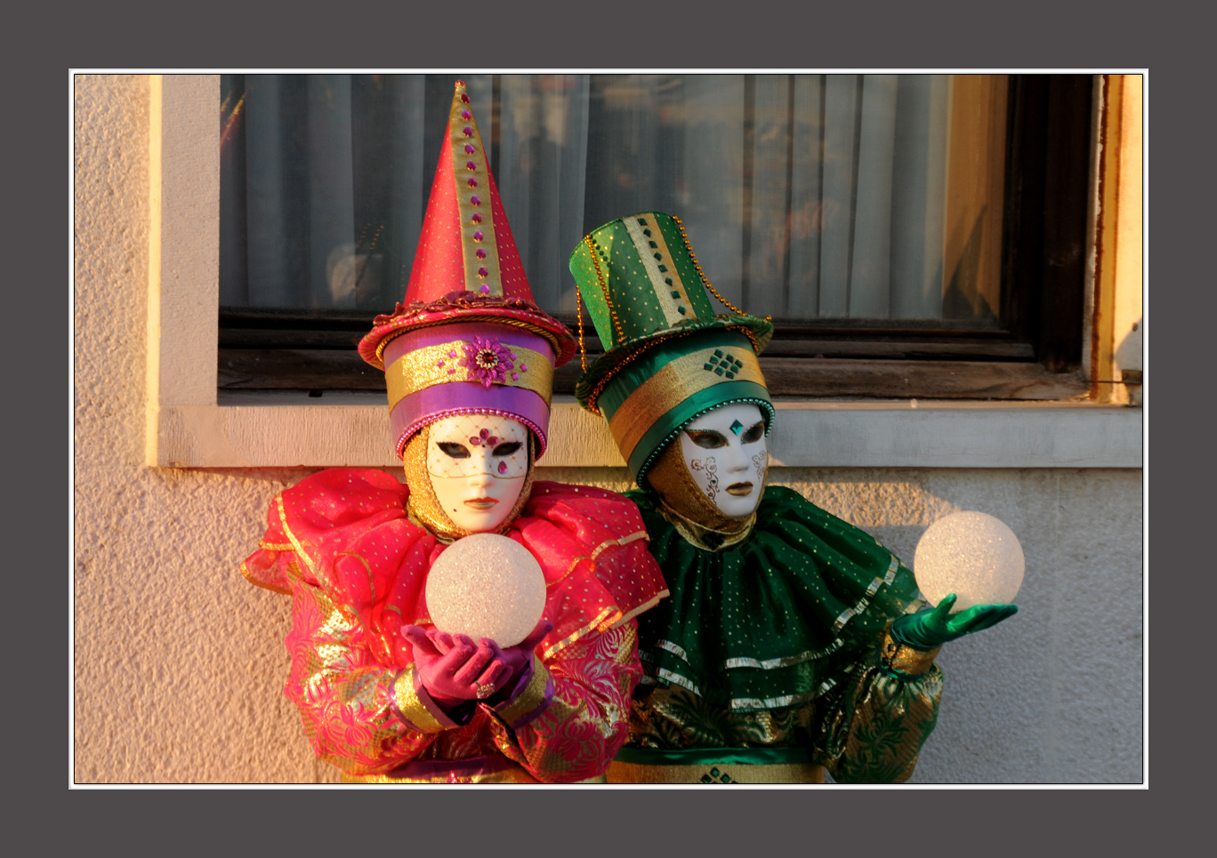 Instantané au moment du carnaval