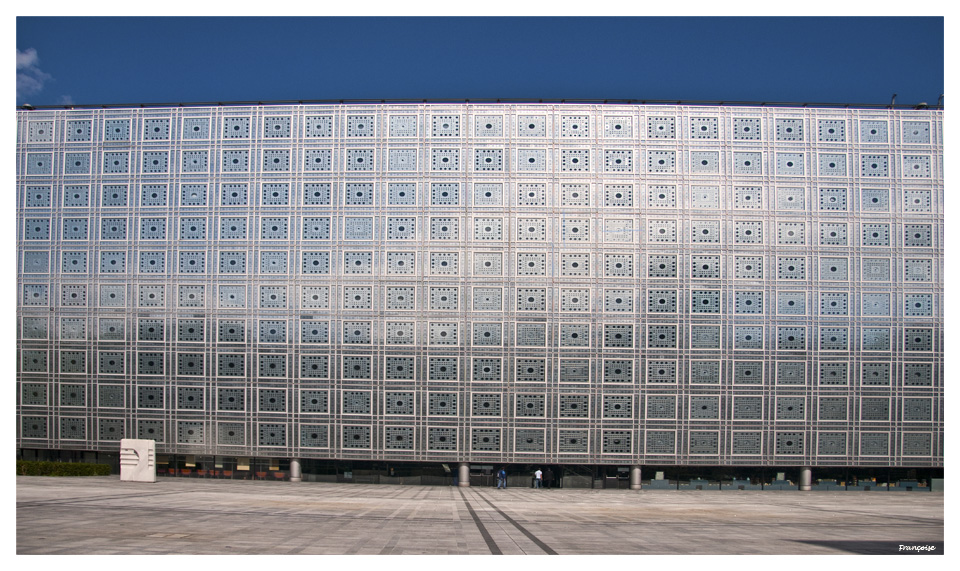 Institut du monde Arabe à Paris