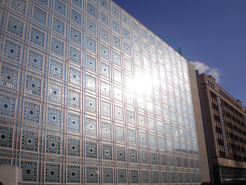 Institut du Monde Arabe Façade