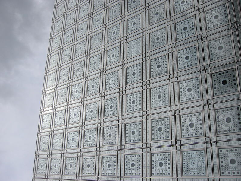 Institut du monde arabe (façade) - Paris