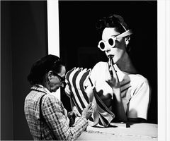 Interaktion mit der Kunst