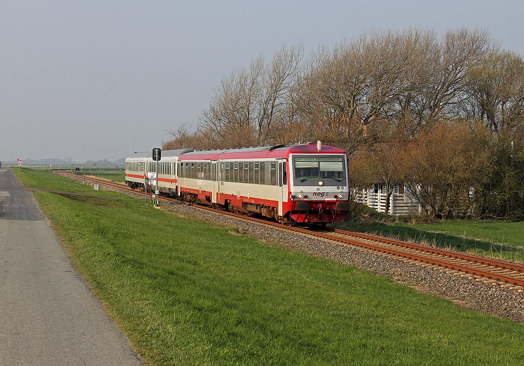 InterCity im nordfriesischen Nichts