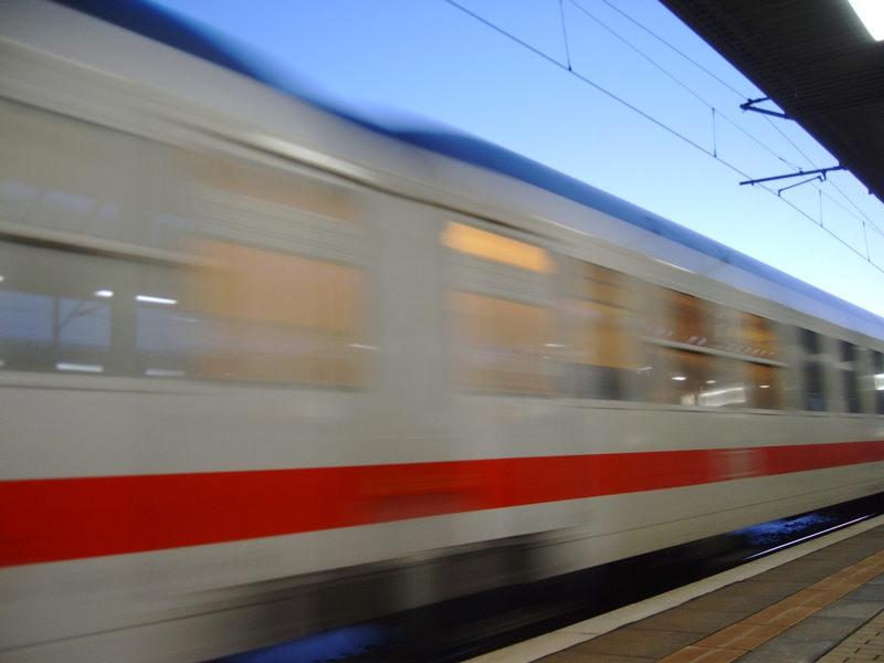 InterCity in Bewegung