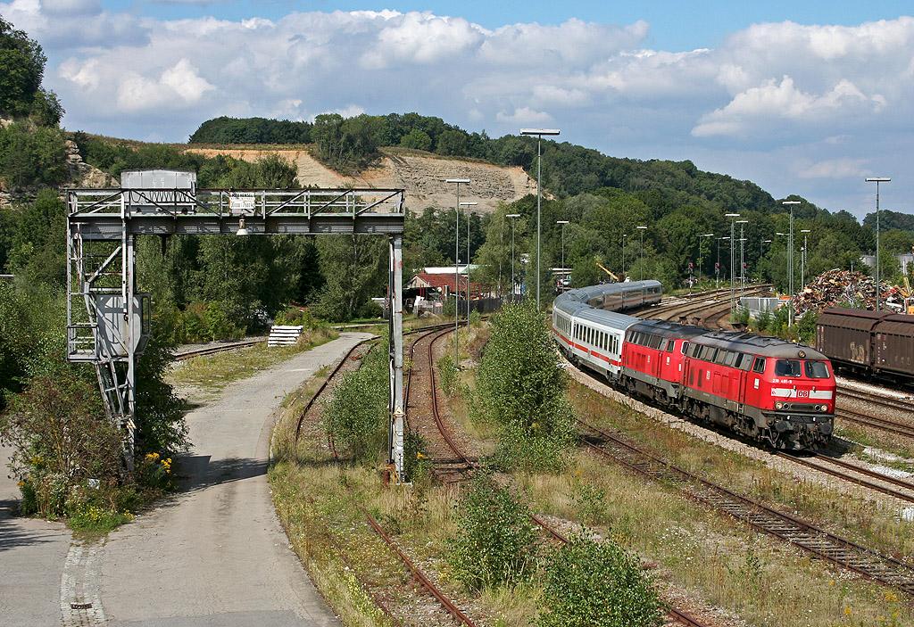 InterCity in Biberach an der Riß