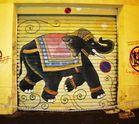 Interdit de garer son éléphant devant le garage (Marseille)