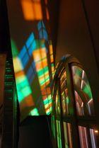 Interessante Lichtverhältnisse im Treppenhaus :-)