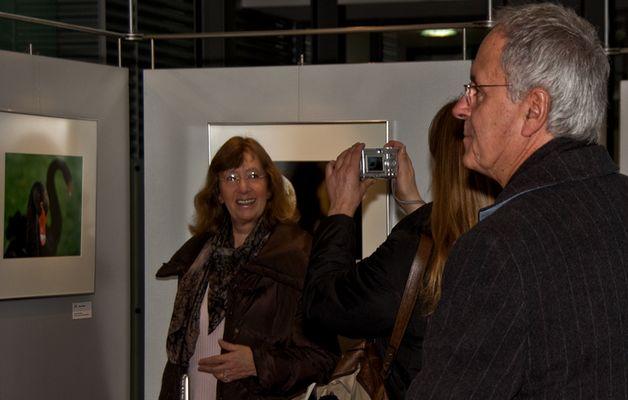 Interesse an Marens Ausstellung ..
