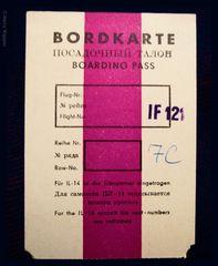 Interflug Dresden-Barth 60er Jahre