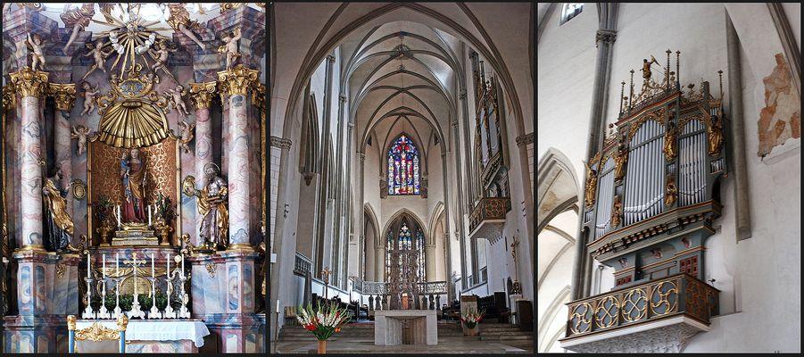 Intérieur de la Cathédrale D'Augsbourg  -- Im Inneren des Augsburger Domes