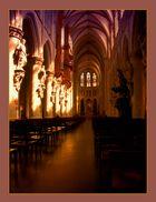 Intérieur de la cathédrale de Bruxelles