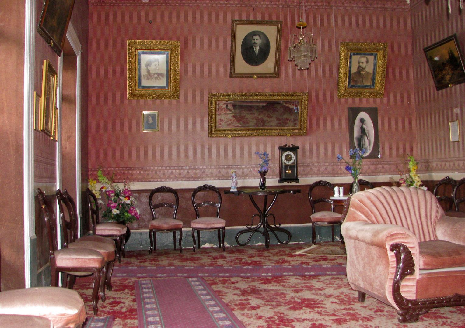 interior casa marquez galindo estilo porfirista.