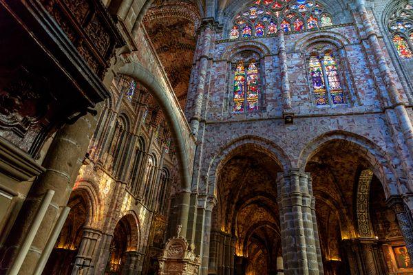 interior catedral de Avila 2