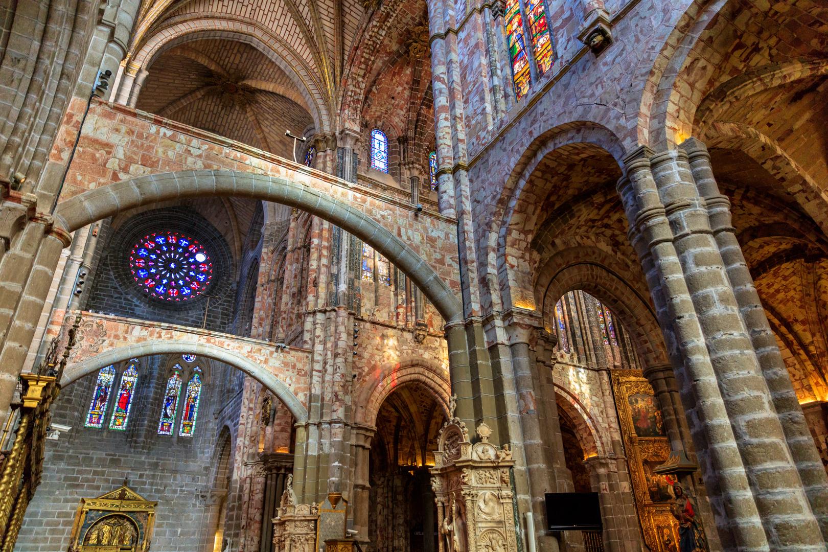 Interior catedral de avila imagen foto spain catedral for Catedral de durham interior