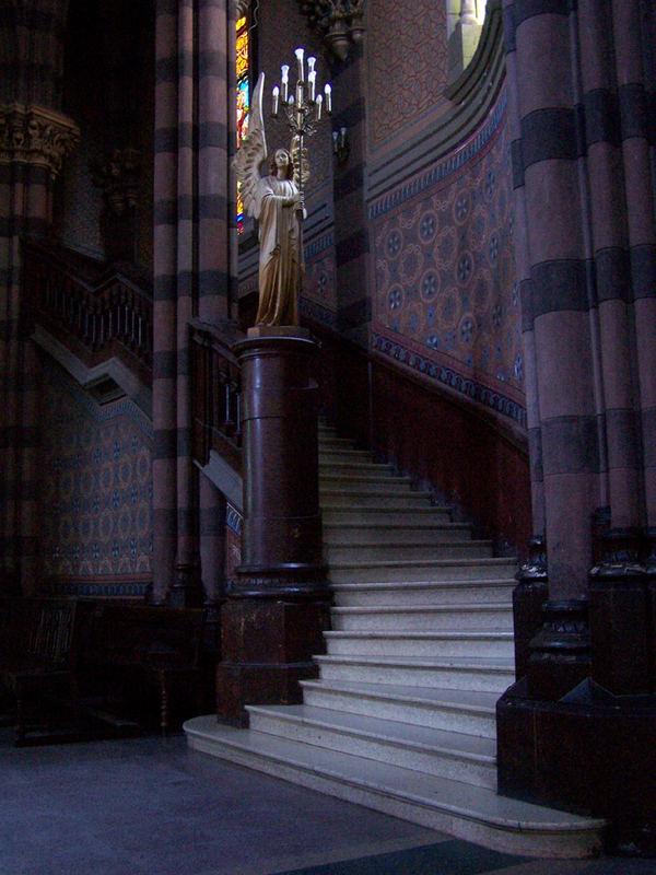 Interior de Iglesia de Los Capuchinos