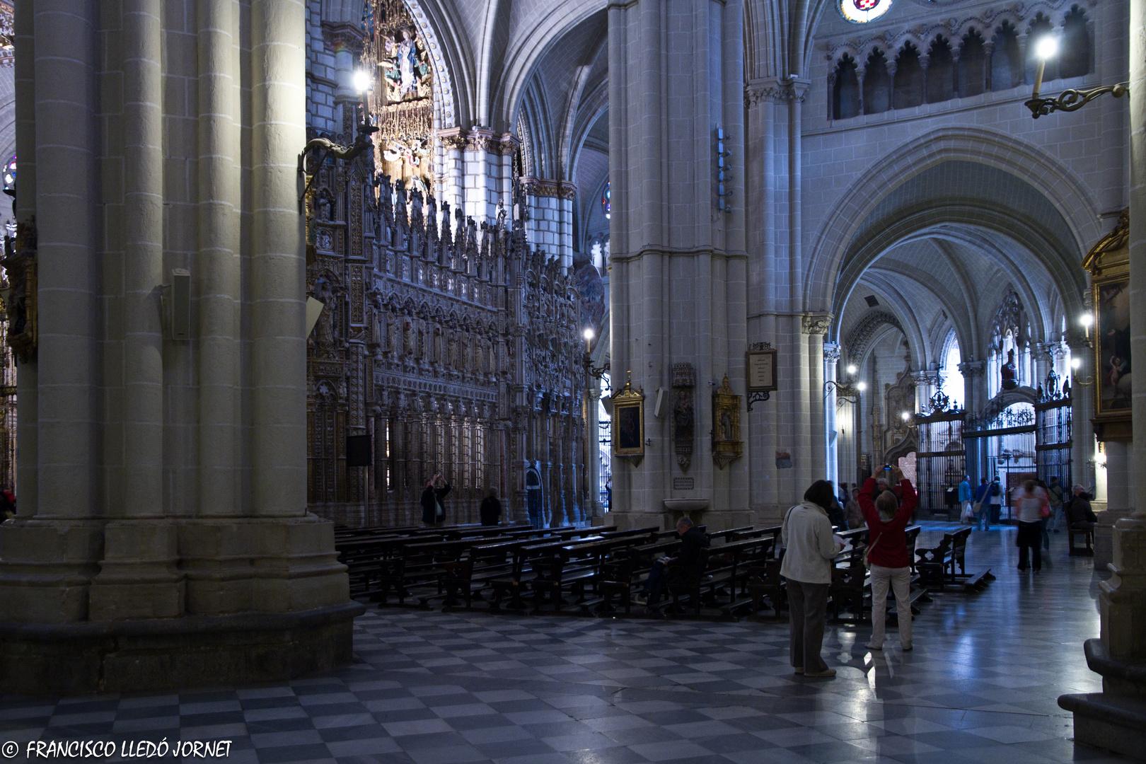 Interior de la Catedral de Toledo.