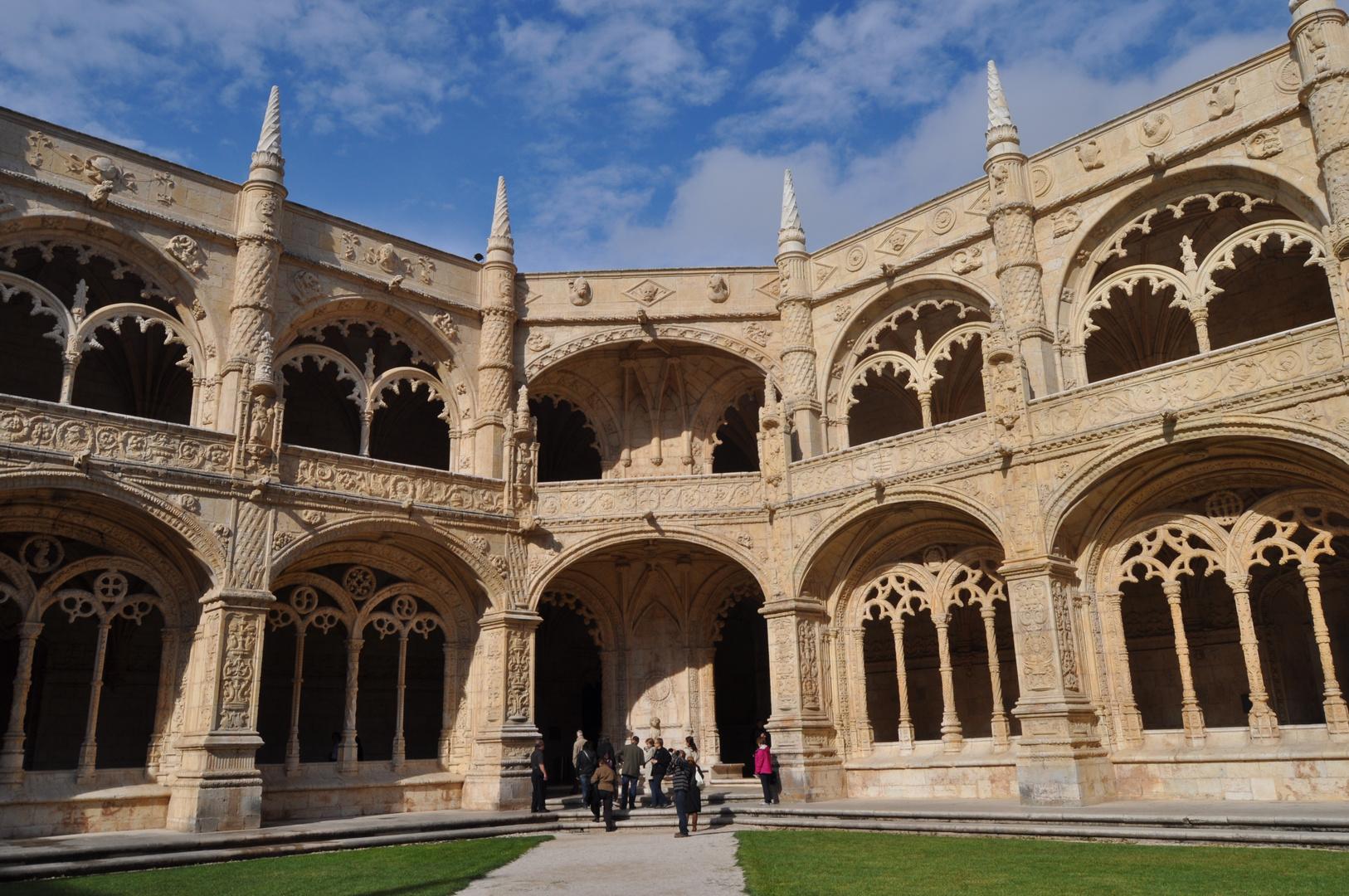 Interior del Monasterio de los Jeronimos