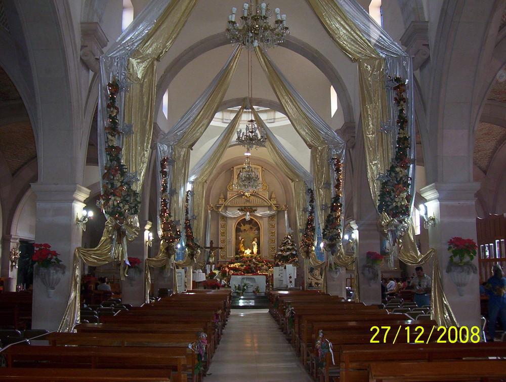 Interior templo de San Julián