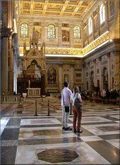 Interiore della Basilica di San Paolo fuori le mura.