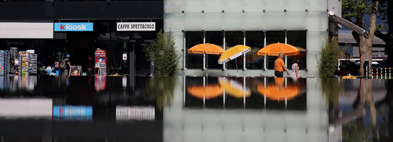 Interlaken Bahnhofplatz 1.8.2013