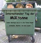 Internationaler Tag der Mülltonne