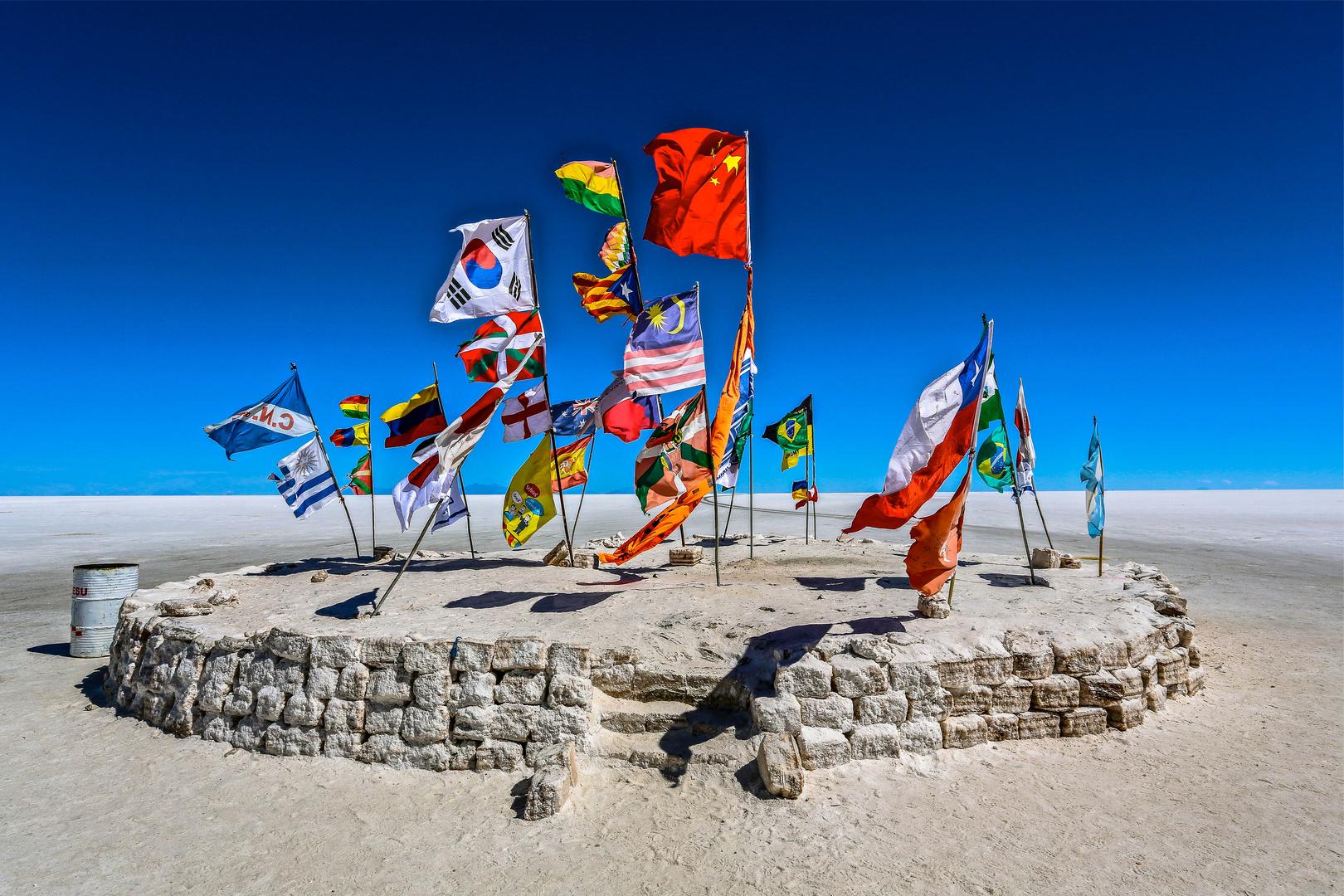 International.Salzwüste in Bolivien