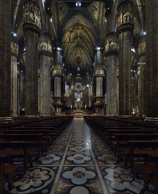 Interno Duomo Milano 1