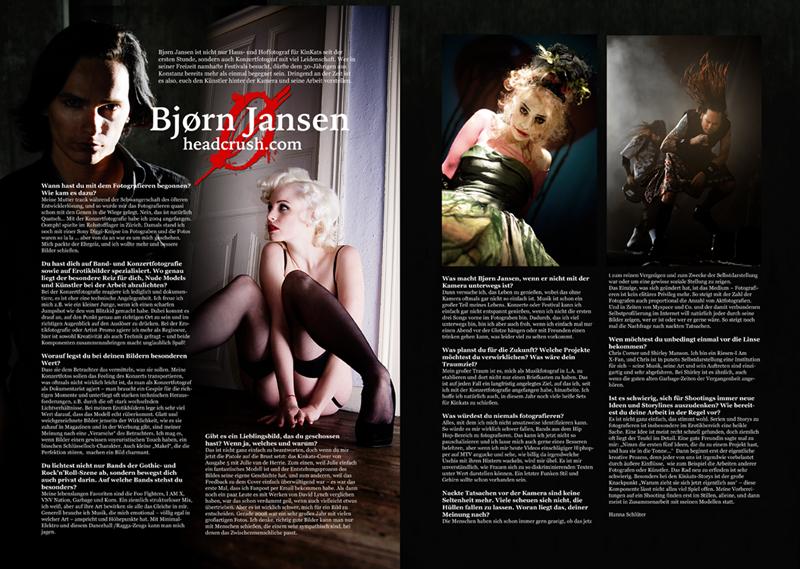 Interview im Kinkats Magazin