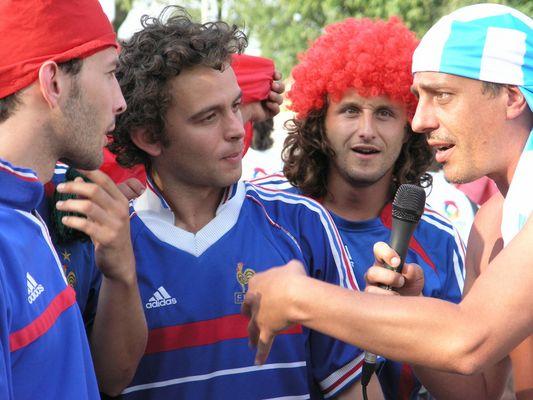 Interview mit Fußball Fans