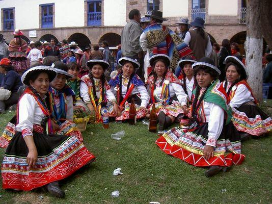 Inti Raymi Fest der Indios in Cuzco, Peru, Juni 2005