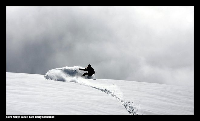 Into the pow-clouds