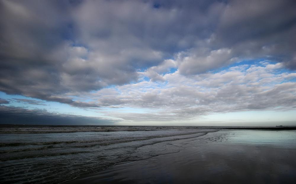 Into the sea @ Ostend