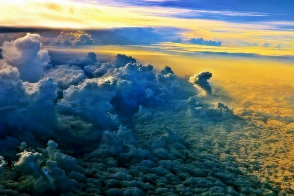 Into the world of clouds