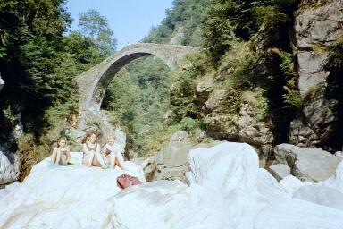 Intragna -sogenannte Römerbrücke