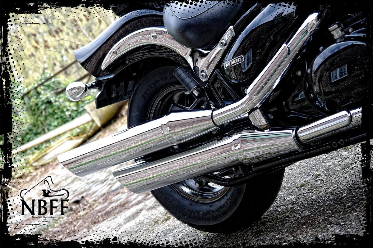 Intruder M800 Exhaust