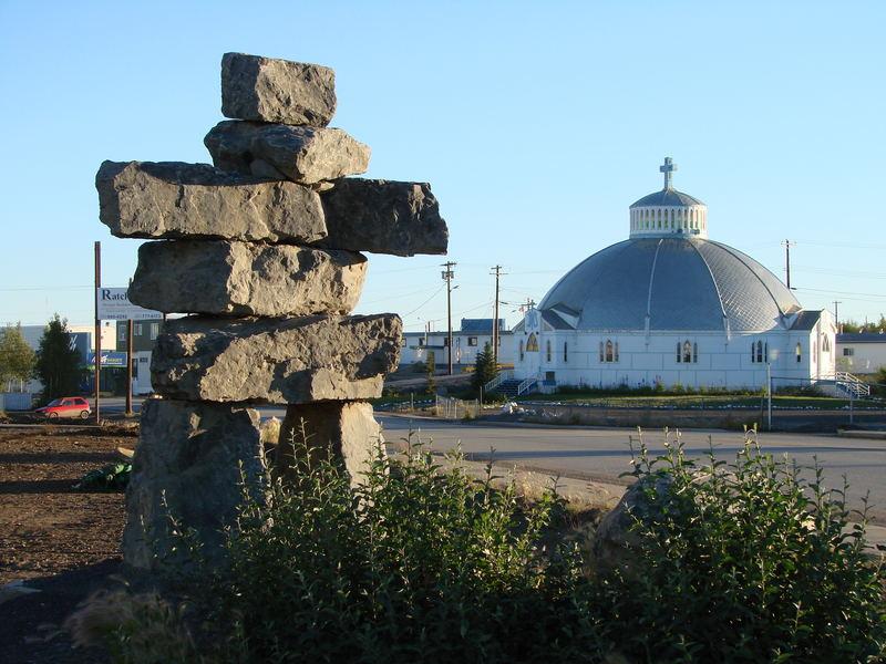 Inuvik - Kirche Alaska