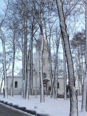 Inverno a Telsiai (Lituania)