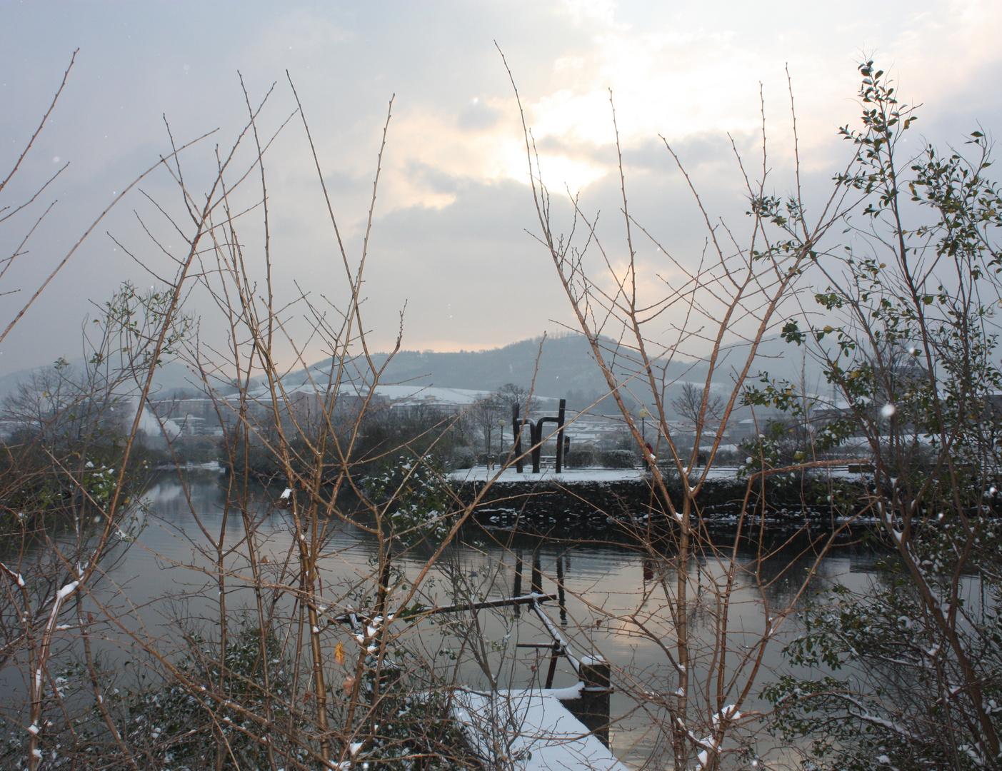 invierno en Irun