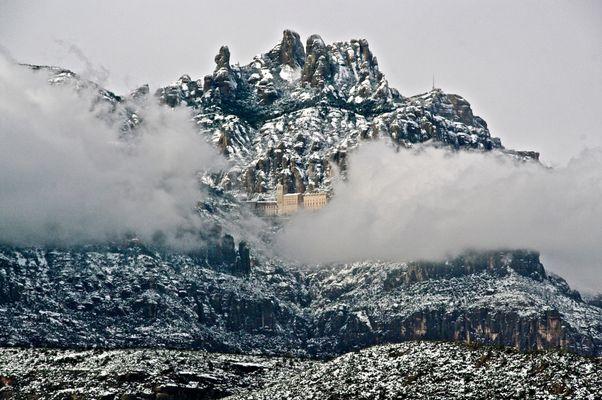 Invierno en Montserrat