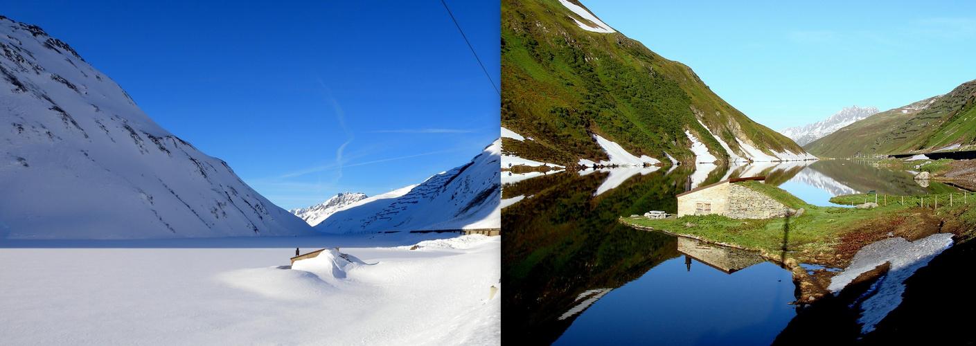 Invierno/Verano..L'hiver/l'été..Winter/Sommer.